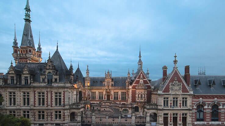 Vue extérieure du Palais Bénédictine