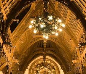 Gothic Room Ceiling