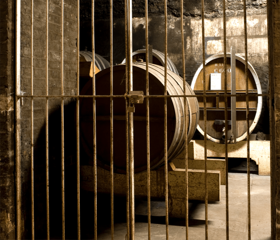 Casks in Vault